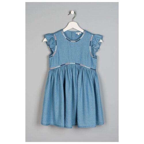 Платье Original Marines размер 140, синий водолазка original marines размер 140 синий