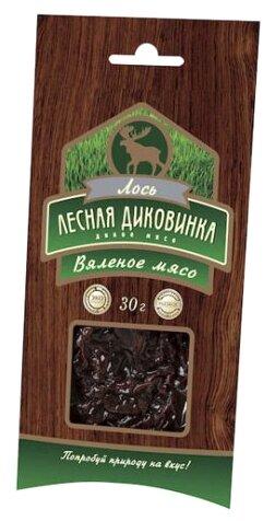 Лесная Диковинка Вяленое мясо лося 30 г
