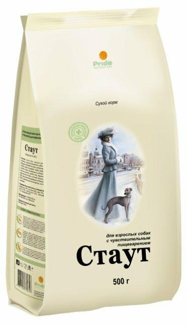 Корм для собак Stout Для взрослых собак с чувствительным пищеварением (3 кг)