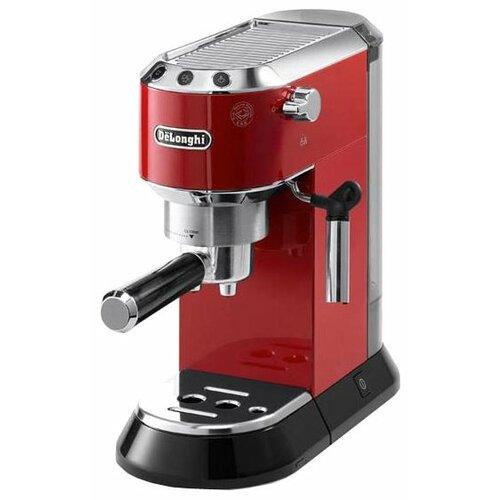 Кофеварка рожковая De'Longhi Dedica EC 680 красный delonghi ec 680