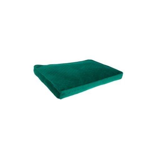 Лежак для собак и кошек PRIDE Ватсон 71х50х5 см изумрудный