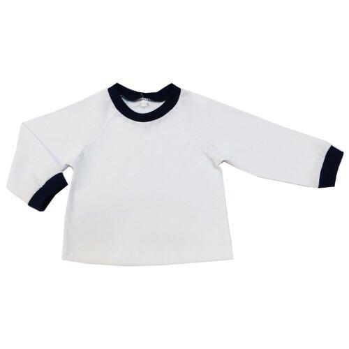 Лонгслив Sonia Kids размер 122, белый/темно-синийФутболки и майки<br>