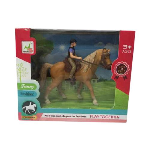 Купить Фигурки Nanshun Лошадка (бежевая) WA-D7916, Игровые наборы и фигурки