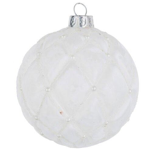 Набор шаров KARLSBACH 08407, белый, 6 шт.