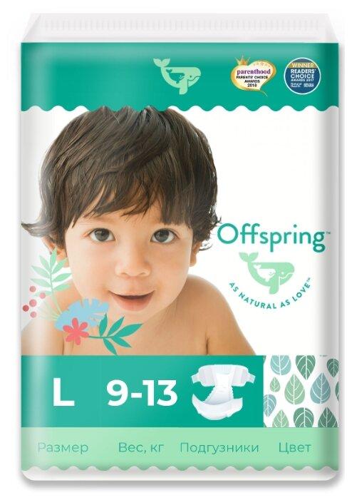 Offspring подгузники L (9-13 кг) 36 шт.