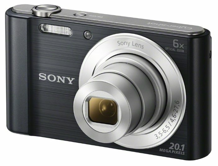 Фотоаппарат Sony Cyber-shot DSC-W810 серебристый