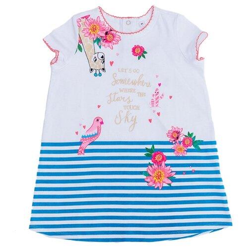 Купить Платье Pixo размер 86, белый, Платья и юбки