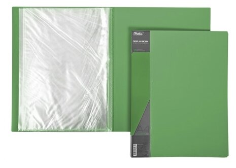 Hatber Папка пластиковая А4 STANDARD на 30 вкладышей