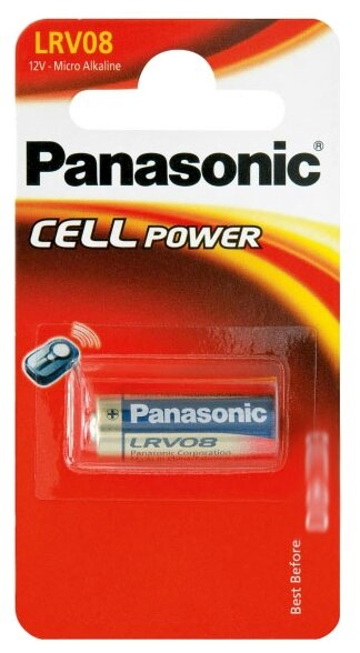 Батарейка Panasonic Cell Power LRV08