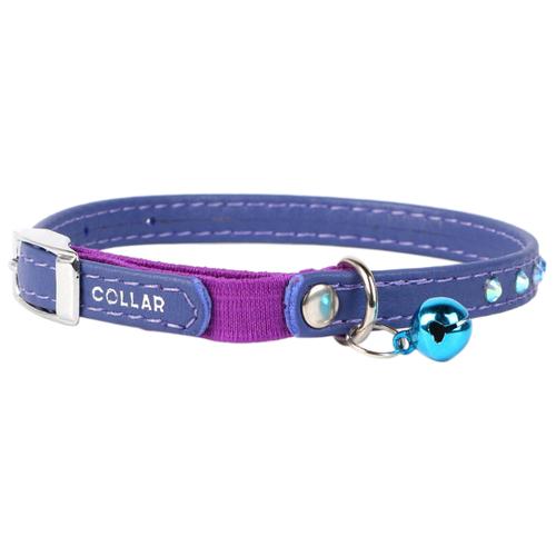 Ошейник COLLAR Glamour (3254) фиолетовый