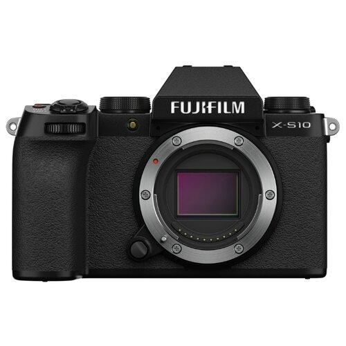Фото - Фотоаппарат Fujifilm X-S10 Body черный цифровой фотоаппарат fujifilm x a5 body silver