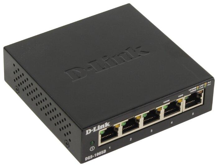Коммутатор D-link DGS-1005D/I3