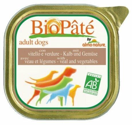 Корм для собак Almo Nature Daily Menu телятина с овощами 300г