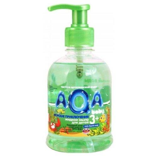 Купить AQA baby Жидкое мыло Морские приключения 300 мл, Средства для купания