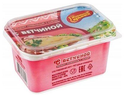 Сырный продукт Жинкина крынка Продукт плавленый сыром и ветчиной 60%