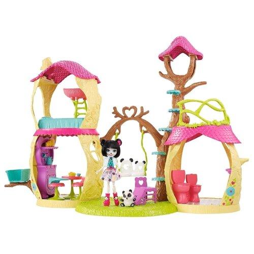 Купить Набор с куклой Enchantimals Лесной домик, 15 см, FCG94, Куклы и пупсы