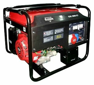 Бензиновый генератор ELITECH БЭС 8000 ЕТ (6000 Вт)