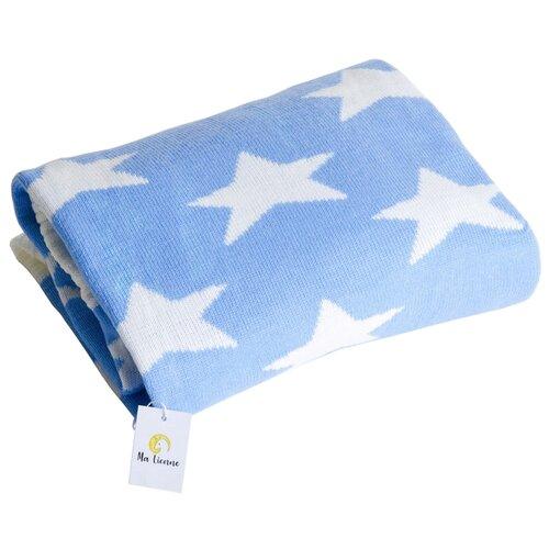 Плед Ma Licorne Star 100x100 blue