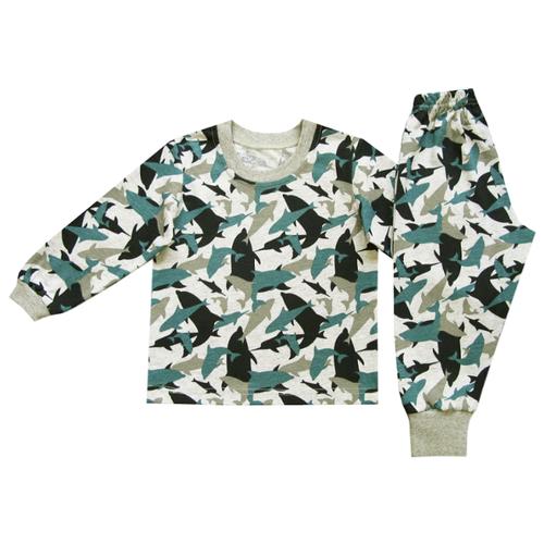 Пижама ПАНДА дети размер 86, серыйДомашняя одежда<br>