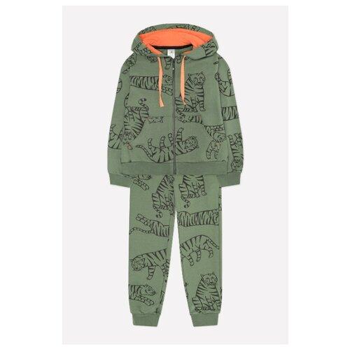 Купить Комплект одежды crockid размер 98, бронзовый/зеленый, Комплекты и форма