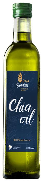 De La Sierra Масло семян чиа