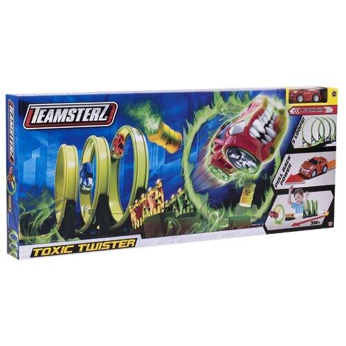 Купить Трек Teamsterz Toxic Twister 1416438, Детские треки и авторалли