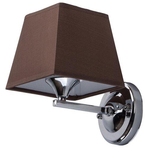 Настенный светильник De Markt Конрад 667020701, 60 Вт люстра de markt 667010605 конрад