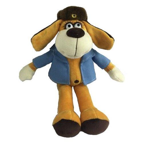 Мягкая игрушка ABtoys Собака в голубом пиджаке 18 см