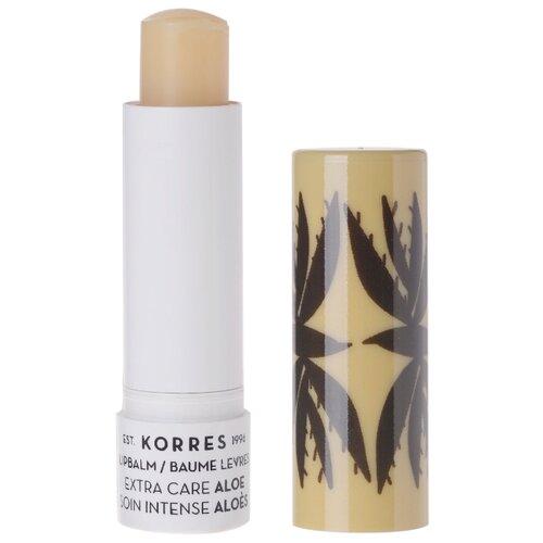 KORRES Бальзам-стик для губ Aloe косметика korres официальный
