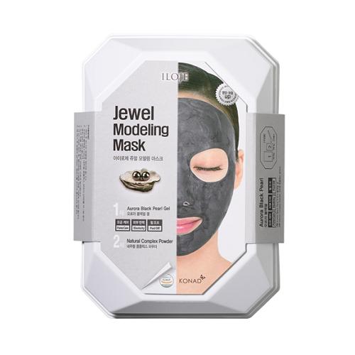 Konad Моделирующая альгинатная маска с черным жемчугом омолаживающая Iloje Jewel Modeling Mask, 55 г dr jart rubber mask моделирующая альгинатная маска мания сияния