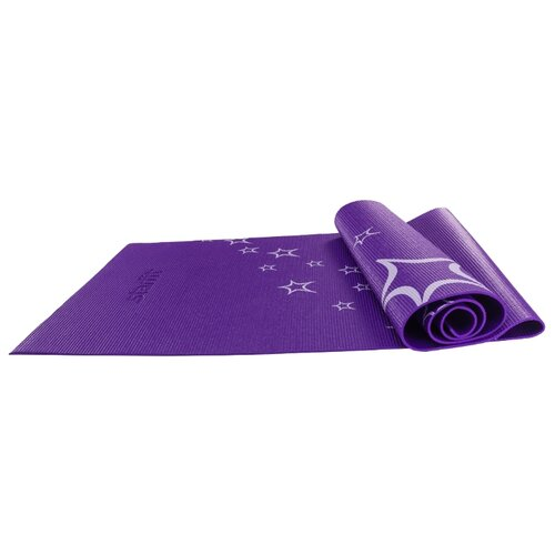 Фото - Коврик (ДхШхТ) 173х61х0.6 см Starfit FM-102 фиолетовый коврик дхшхт 173х61х0 4 см starfit fm 102 фиолетовый рисунок