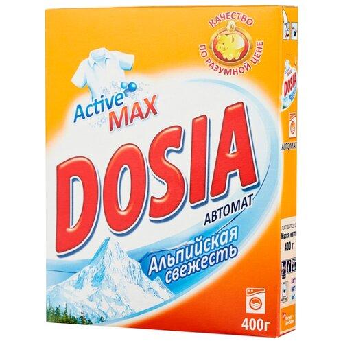 dosia стиральный порошок для ручн стирки альпийская свежесть 365гр Стиральный порошок Dosia Альпийская свежесть (автомат) картонная пачка 0.4 кг