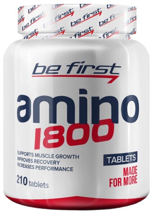 Аминокислотный комплекс Be First Amino 1800 (210 шт.)