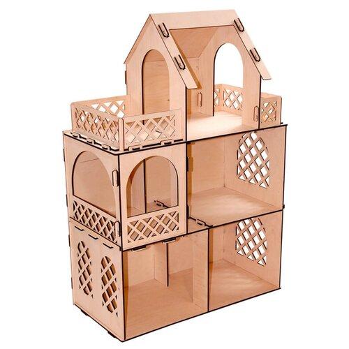 Сборная модель PAREMO Я дизайнер. Кукольный домик для мини-кукол PD218-05
