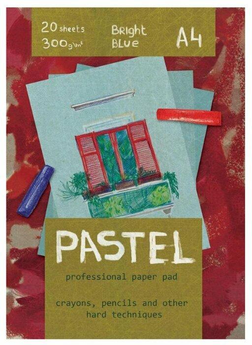 Альбом для рисования пастелью Кройтер Pastel 06500/455183 29.7 х 21 см (A4), 300 г/м², 20 л. красный