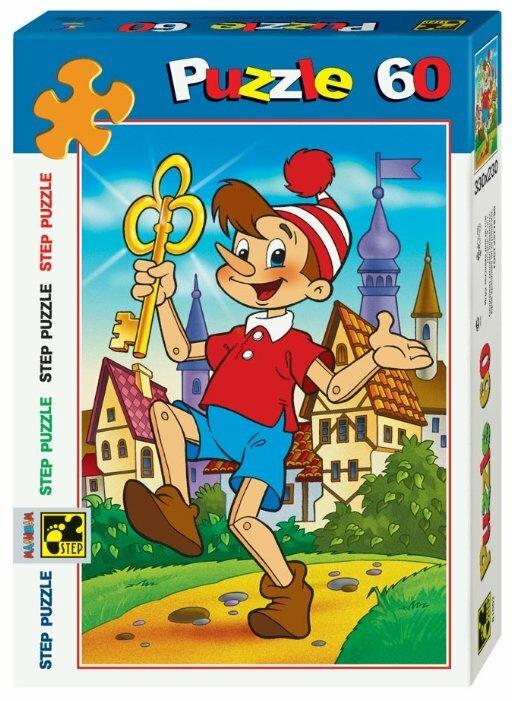 Пазл Step puzzle Золотой ключик (81002), 60 дет.