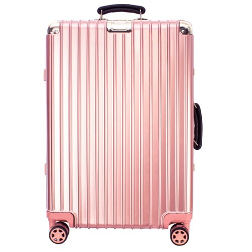 Чемодан PROFFI Business Lady M 63 л, розовый чемодан proffi business lady m 63 л розовый