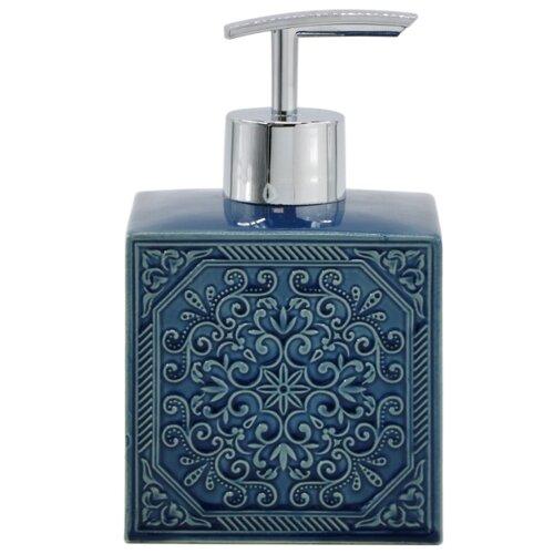 Дозатор для жидкого мыла PROFFI Home PH8664, синий дозатор для жидкого мыла proffi la maison de beaute ph9283 серо голубой