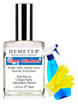 Demeter Fragrance Library Clean Windows