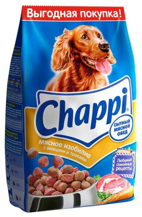 Корм для собак Chappi Сухой корм Мясное изобилие с овощами и травами