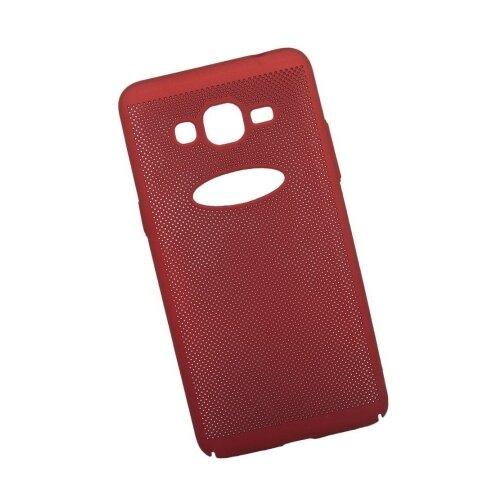 Чехол Liberty Project Сетка Soft Touch для Samsung J2 Prime красный