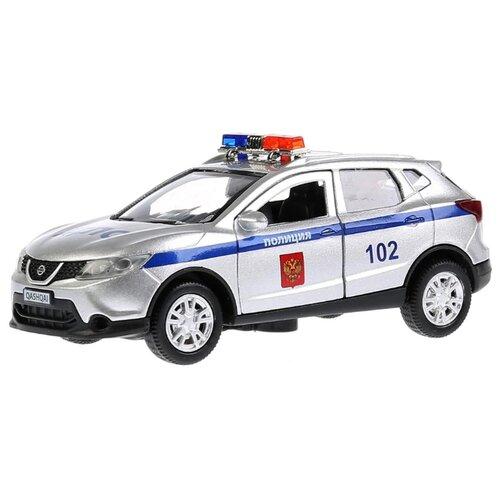 Купить Легковой автомобиль ТЕХНОПАРК Nissan Qashqai (QASHQAI-P-SL) 12 см серебристый, Машинки и техника