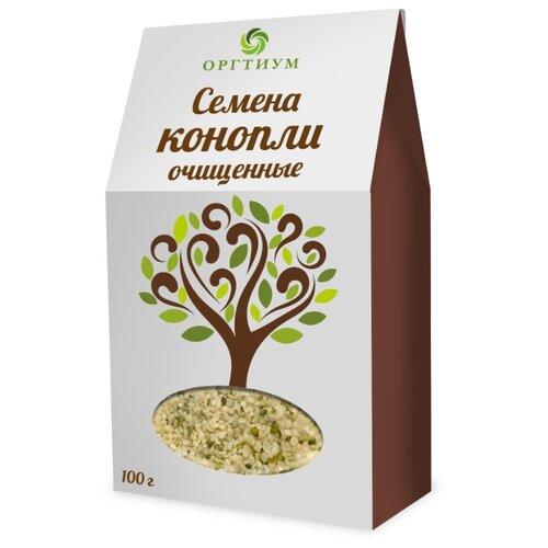 Оргтиум Семена конопли (ядра) очищенные экологические, 100 гСуперфуды<br>