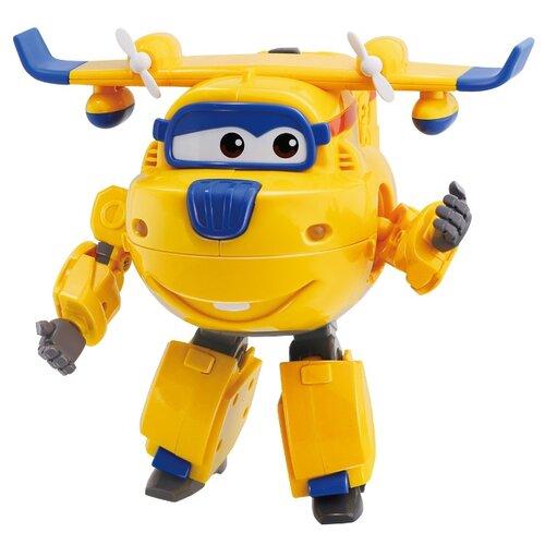 Робот-трансформер Auldey Super Wings Transform 'n Talk Донни желтый