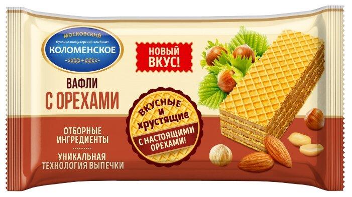 Вафли Коломенское с орехами 200г