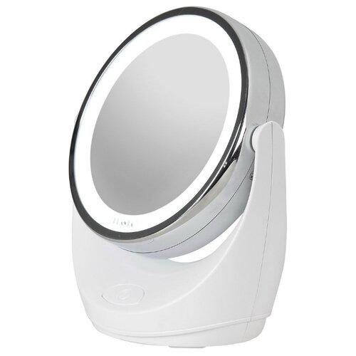 Зеркало косметическое настольное PLANTA PLM-1425 с подсветкой белыйЗеркала косметические<br>