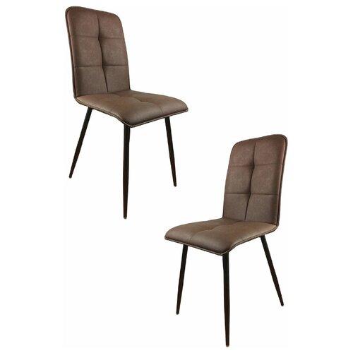 Комплект стульев (2 шт.), СтолБери, Пежо, коричневый