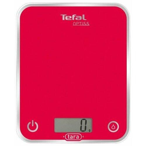 Кухонные весы Tefal BC5000/5001/5002/5003 Optiss красный недорого