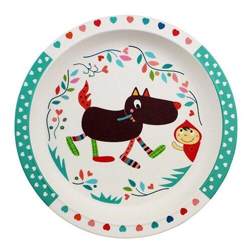 Купить Тарелка Ebulobo Волчонок (E25001), Посуда