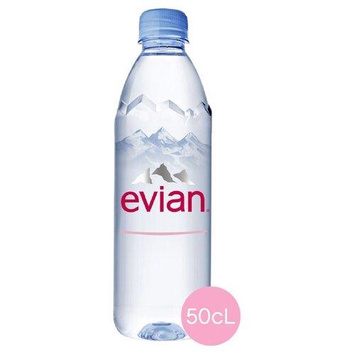 Вода минеральная Evian негазированная, ПЭТ, 0.5 л минеральная вода от изжоги при беременности